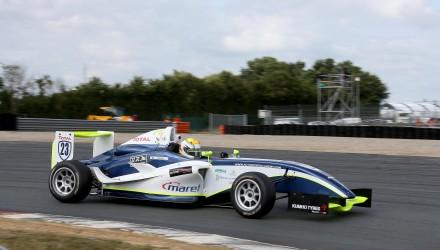 Lasse Sørensen, Formel 4, Magny Cours. Foto: Lasse Racing