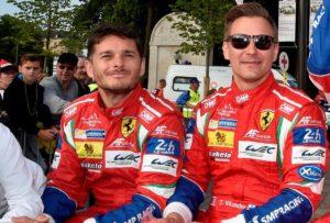 Foto: Ferrari - Vilander og Fisichella