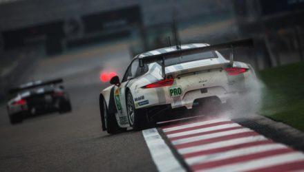 1st November - 14h06 Car #91 / PORSCHE TEAM MANTHEY (DEU) / Porsche 911 RSR / Richard Lietz (AUT) / Michael Christensen (DNK)- 6 Hours of Shanghai at Shanghai International Circuit - Shanghai - China © Nick Dungan - AdrenalMedia.com