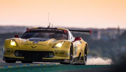 18th June - 21h04 #64 CORVETTE RACING - GM (USA) / MICHELIN / CHEVROLET CORVETTE C7.R / Oliver GAVIN (GBR) / Tommy MILNER (USA) / Jordan TAYLOR (USA)Le Mans 24 Hour - Circuit des 24H du Mans - Le Mans - France © Gabi Tomescu - AdrenalMedia.com