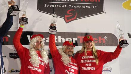 Christina Nielsen skrev sig ind i motorsportshistorien, da hun lørdag aften dansk tid vandt det amerikanske IMSA mesterskab i GTD klassen