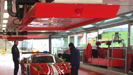 Scuderia Corsas nye Ferrari 488 GT3 - Foto: Scuderia Corsa.