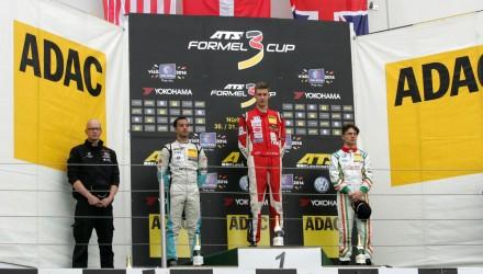Nicolai Sylvest, ATS Formel 3, Nürburgring