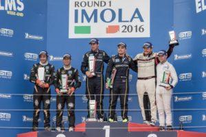Michelin GT3 Le Mans Cup podiet - Imola