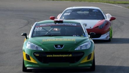 HM Motorsports flotte Peugeot RCZ vil kunne opleves i flere af årets løb i Danish Endurance Championship.