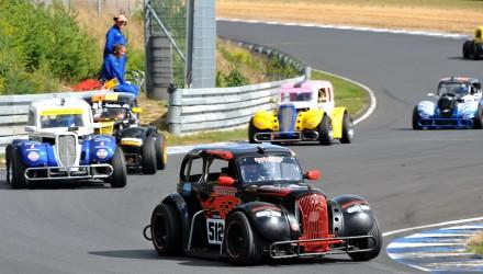 Kevin Verner Jensen var bedste kører i OK Legend Car Cuppen ved GP Danmark på FDM Jyllandsringen.
