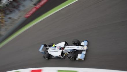 2014 GP2 Series. Round 9. Autodromo di Monza, Monza, Italy. Friday 5 September 2014. Marco Sorensen (DK, MP Motorsport). Photo: Zak Mauger/GP2 Series Media Service. ref: Digital Image _L0U9736