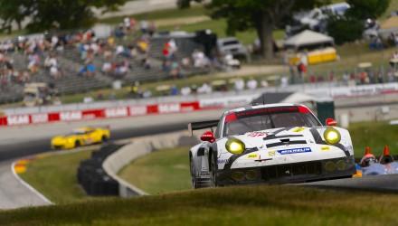 Porsche 911 RSR, Porsche North America: Patrick Long, Michael Christensen