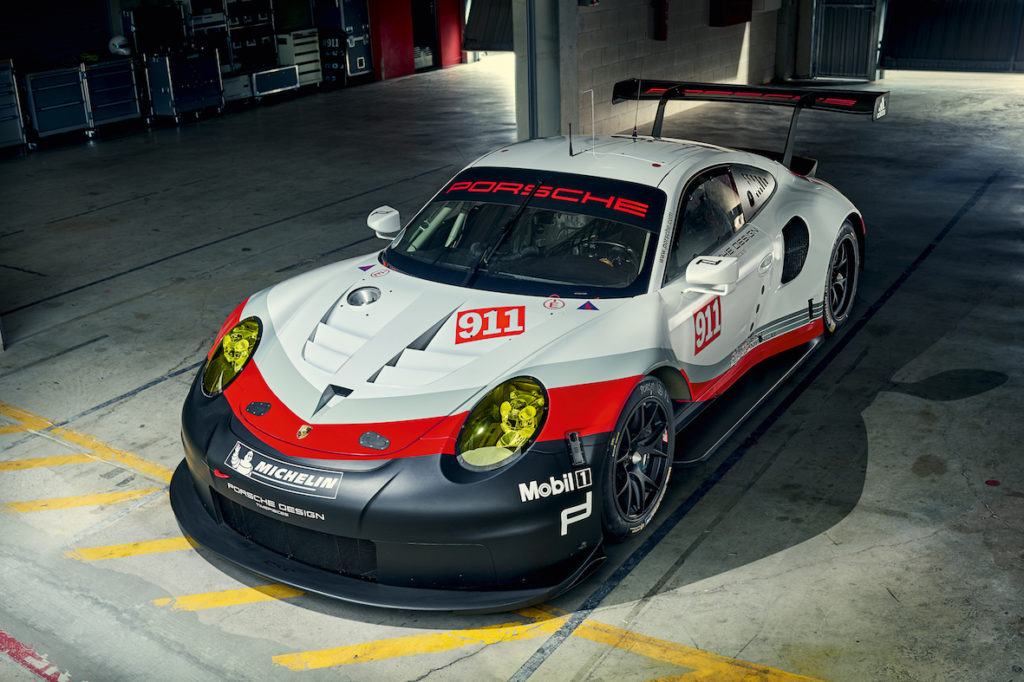 Michael Christensen kører nye Porsche 2017