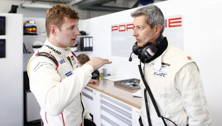 Michael Christensen Porsche fabrikskører 2015