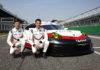 Porsche GT Team: Michael Christensen, Kevin Estre (l-r)