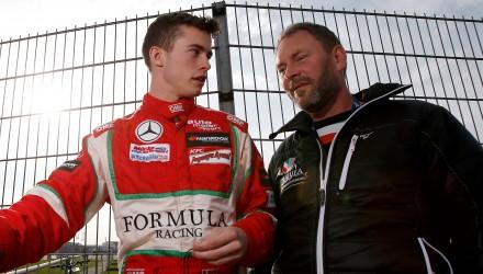 Mikkel Jensen debut Silverstone 2015