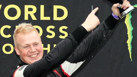 Ulrik Linnemann vinder sølv i EM i rally cross