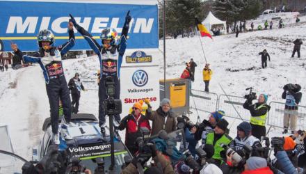 Sebastian Ogier vinder Rally Sweden 2016