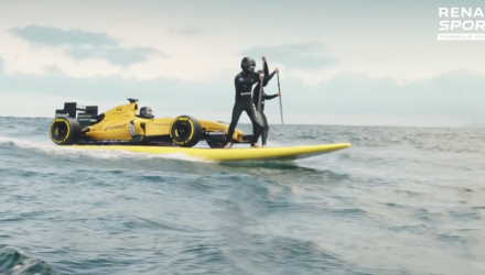 Renaults nye Formel 1-racer
