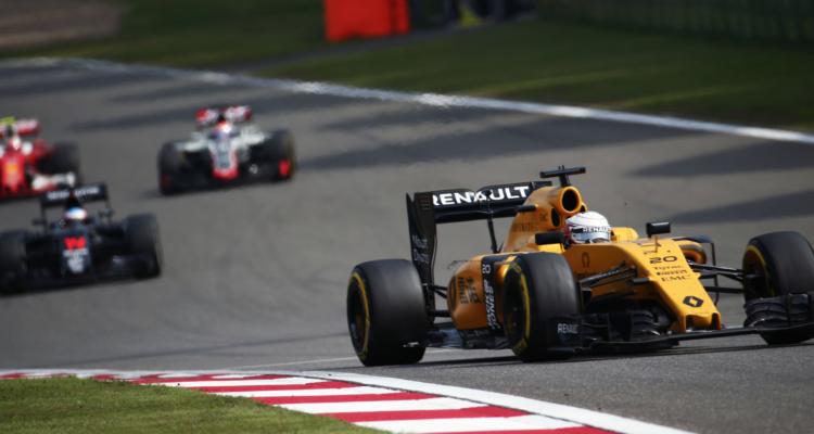 Formel 1 tv tider. Renault skuffede ved det kinesiske formel 1 grandprix