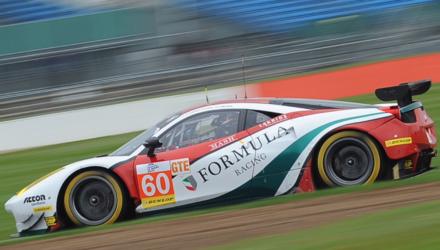 Christina Nielsen er tilfreds med 5. pladsen i sit nye Ferrari Team