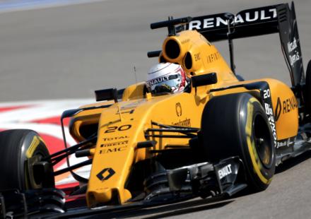 Ruslands Formel 1 kval 2016. Kevin Magnussen under Ruslands Formel 1 Kval