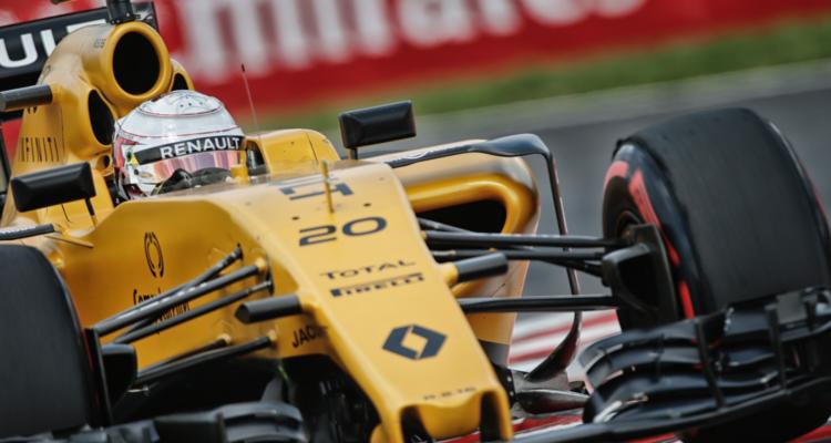 Kevin Magnussen Ungarns Formel 1-grandprix 2016