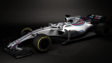 Williams Formel 1 bil 2017