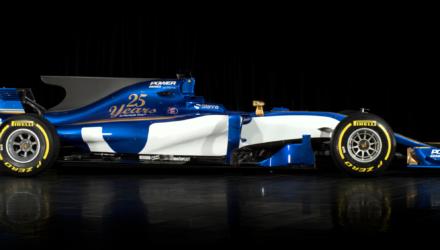 Se Saubers nye Formel 1 racer 2017