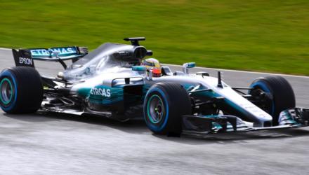 Mercedes formel 1 racer 2017