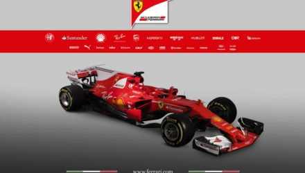 Ferrari præsenterer den nye formel 1 bil 2017