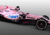 Sarah Force India skifter farve i 2017