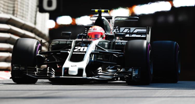 Kevin Magnussen og Romain Grosjean sikrede i dag Haas 5 vigtige point ved Monacos formel 1 grandprix 2017