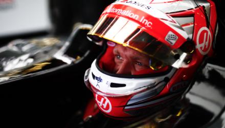 Kevin Magnussen blev nummer 12 ved det britiske grandprix 2017