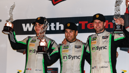 Mere succes for Michael Christensen i USA, hvor danskeren lørdag nat scorede en andenplads i det legendariske finaleløb Petit Le Mans