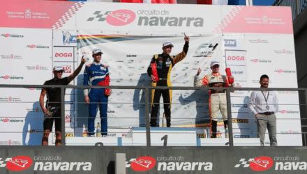 Det blev til endnu en sejr til Christian Lundgaard, da femte afdeling af det spanske Formel 4 mesterskab blev afviklet på Navarra i Spanien.