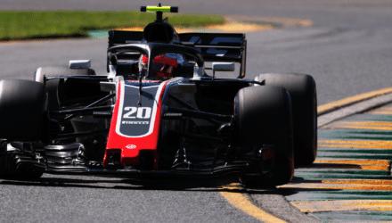 Formel 1 nyheder - Kevin Magnussen under Australiens grandprix 2018