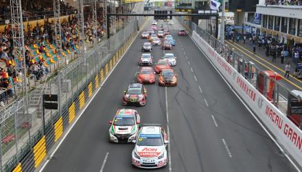 WTCC start Macau 2013