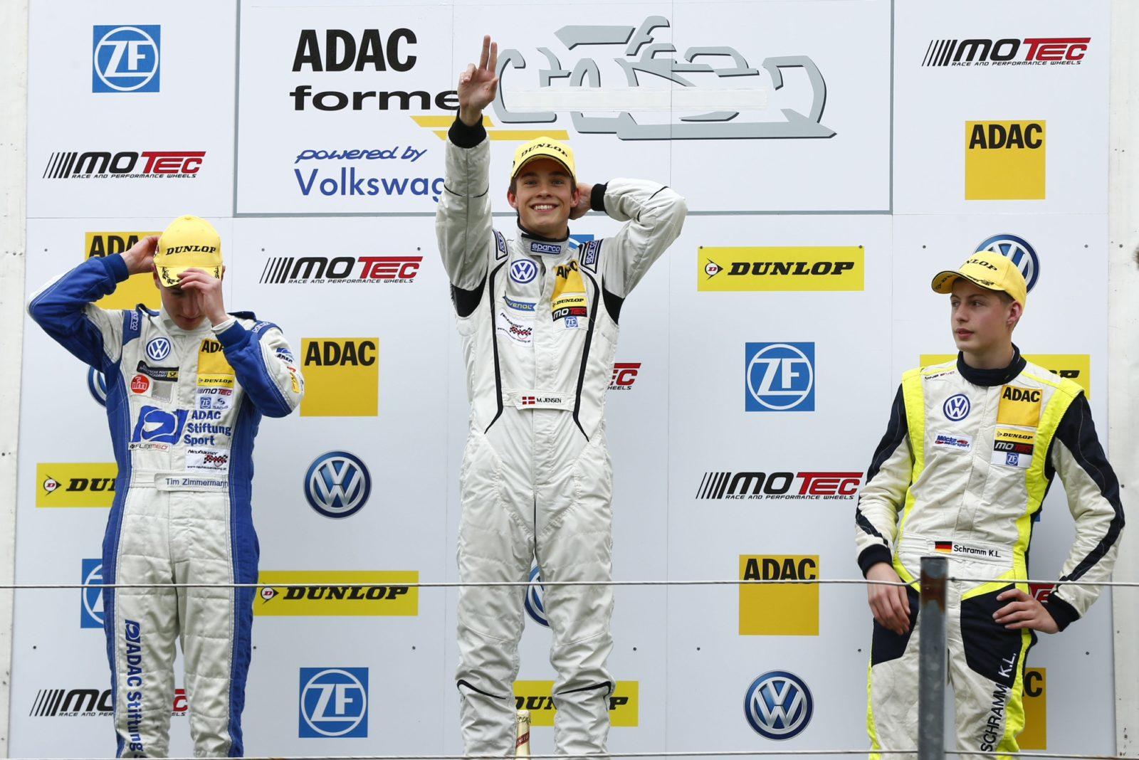 Mikkel Jensen, Zandvoort 2014 ADAC Motorsport