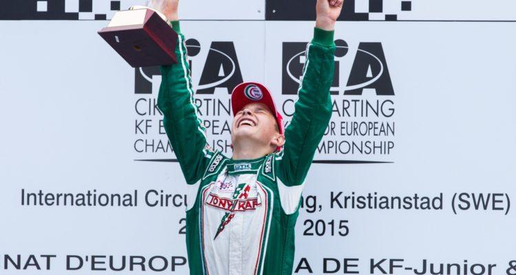 Christian Lundgaard europamester i Karting