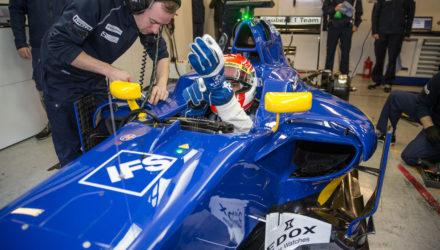 Sauber F1 Barcelona test 2016 foto: Sauber