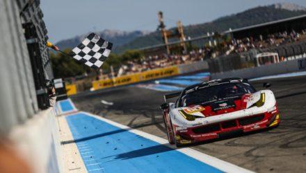 I GTE er Team Formula Racing (Ferrari 458 GT) med Mikkel Mac, Johnny Laursen og italienske Andrea Rizzoli snublende nær den samlede sejr i klassen. Holdet har en føring på 19 points til næstbedste hold, og er allerede sikret en start i 24-timers løbet på Le Mans i 2016.