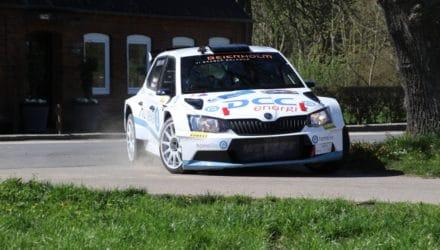 Esben Hegelund under Cimbern Rallye