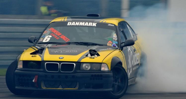 Jimmi Hansen vandt den første landsdækkende turnering for driftere
