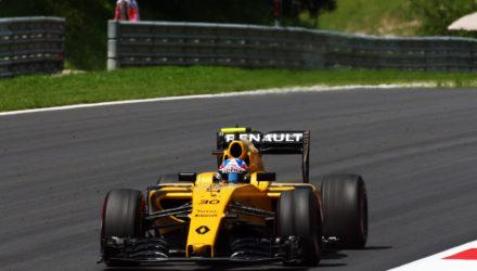 Jolyon Palmer (GBR) Renault Sport F1 Team RS16. Austrian Grand Prix, Saturday 2nd July 2016. Spielberg, Austria.